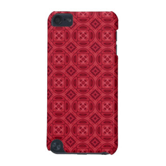 Red wood abstract pattern iPod touch 5G cover