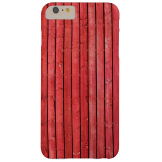 Red wooden planks Iphone 6/6s Plus case