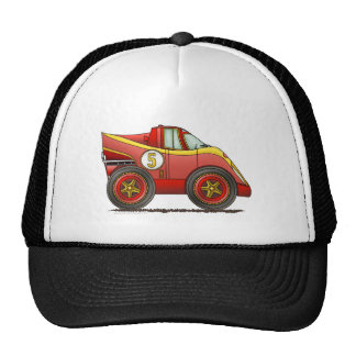 Red World Manufactures Championship Car Hats