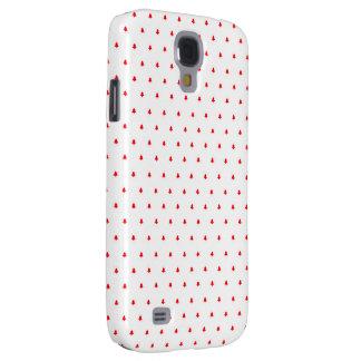 Red X-mas trees Galaxy S4 Case