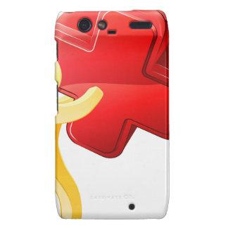 Red X person Motorola Droid RAZR Covers