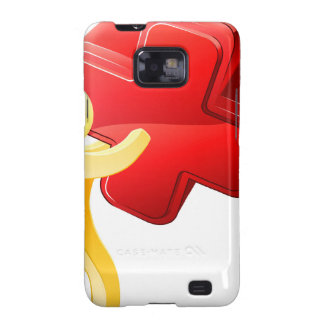 Red X person Galaxy SII Case