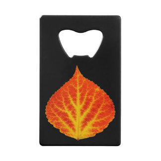 Red & Yellow Aspen Leaf #10