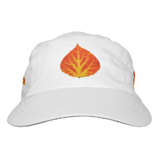 Red & Yellow Aspen Leaf #10 Hat