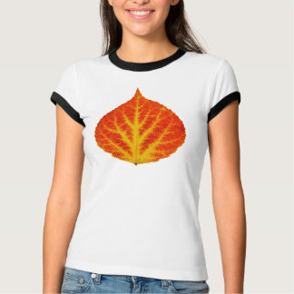 Red & Yellow Aspen Leaf #10 T-Shirt