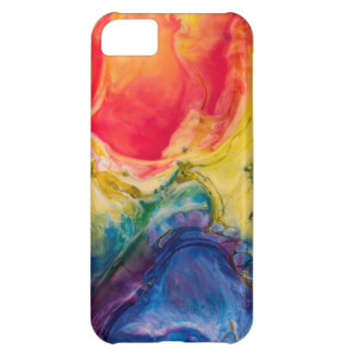 Red Yellow Blue Abstract Painting iPhone 5C Case