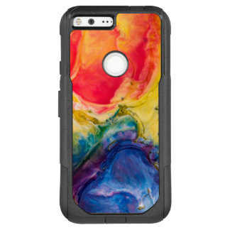 Red Yellow Blue Abstract Painting OtterBox Commuter Google Pixel XL Case