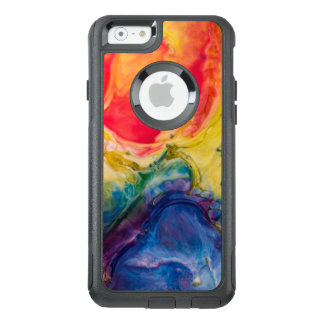Red Yellow Blue Abstract Painting OtterBox iPhone 6/6s Case