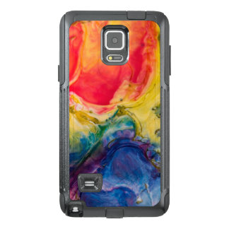 Red Yellow Blue Abstract Painting OtterBox Samsung Note 4 Case
