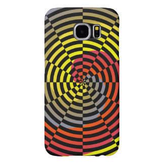 Red Yellow Blue Spiral Samsung Galaxy S6 Cases