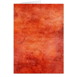 Red Yellow Fire Flowers Background Greeting Cards
