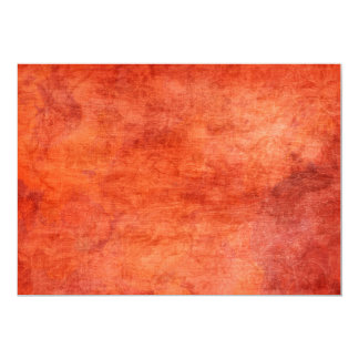Red Yellow Fire Flowers Background Card