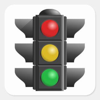 Red Yellow Green Traffic Light Sticker