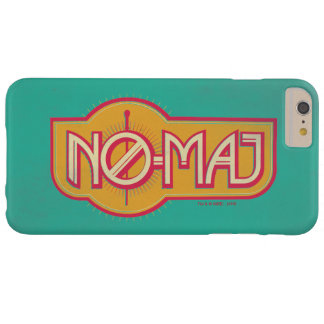 Red & Yellow No-Maj Badge Barely There iPhone 6 Plus Case