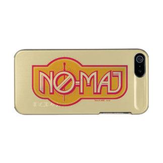 Red & Yellow No-Maj Badge Incipio Feather® Shine iPhone 5 Case
