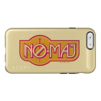Red & Yellow No-Maj Badge Incipio Feather® Shine iPhone 6 Case