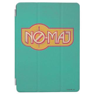 Red & Yellow No-Maj Badge iPad Air Cover