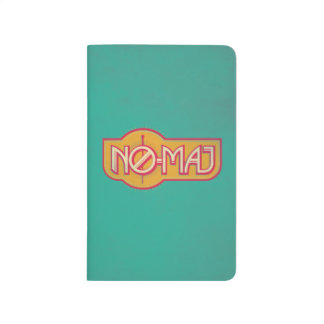 Red & Yellow No-Maj Badge Journal