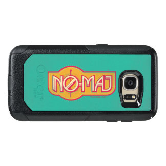 Red & Yellow No-Maj Badge OtterBox Samsung Galaxy S7 Case