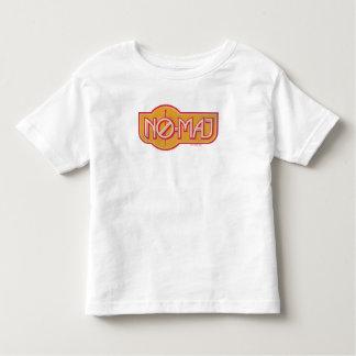 Red & Yellow No-Maj Badge Toddler T-Shirt