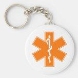 Red Yellow Orange White Nurse EMS Star of Life