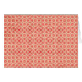 Red Yellow small Pattern Background Greeting Cards