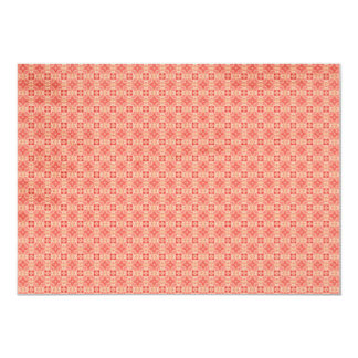 Red Yellow small Pattern Background Card