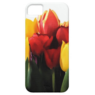 Red Yellow Tulips Barely There iPhone 5 Case