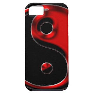 Red Yin Yang Tough iPhone 5 Case