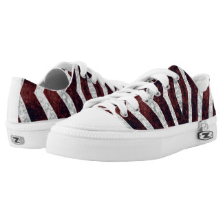 Red Zebra #1 Vitas Sneaker Shoes Printed Shoes