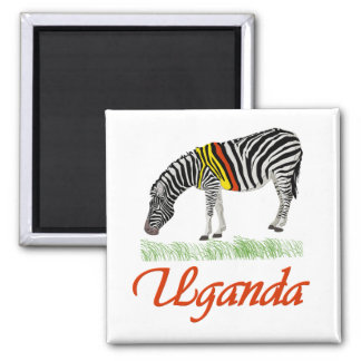 Red Zebra Series Magnet