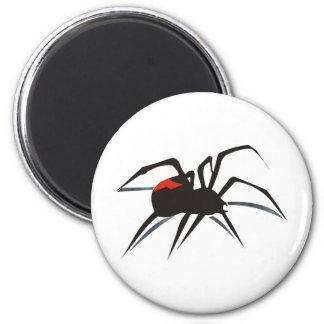 Redback Spider 6 Cm Round Magnet