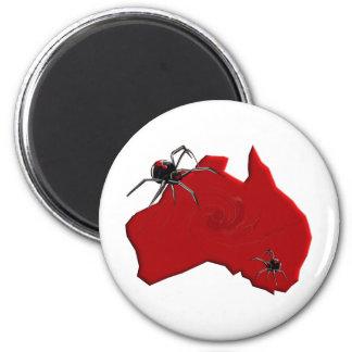 Redback Spider Australia Refrigerator Magnet
