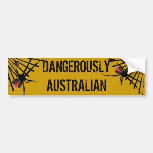 Redback Spider Bumper Stickers