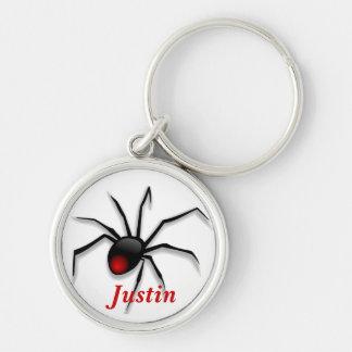 Redback Spider Keychain