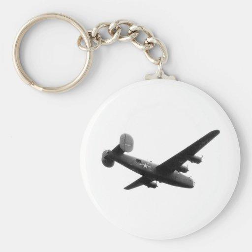 RedBallExpress Carpetbagger B-24 Liberator Key Chain
