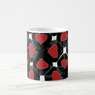 redblackcutouthearts mug