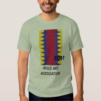 RedBlueYelo, Niles Art Association, 2007 T Shirt
