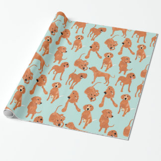 Redbone Coonhound Wrapping paper