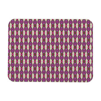 Redbud Pattern Rectangular Photo Magnet