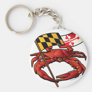 RedCrab_MD_banner.ai Key Ring