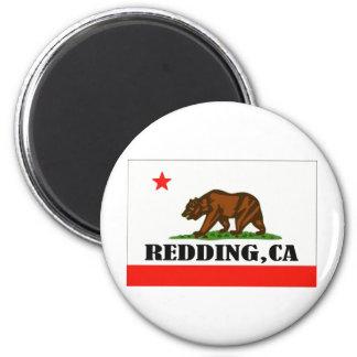 Redding,California -- Products 6 Cm Round Magnet