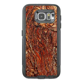 Reddish Brown Rock Texture OtterBox Samsung Galaxy S6 Case