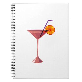 reddish drink blue straw orange graphic.png spiral notebooks