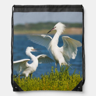 Reddish Egret (Egretta Rufescens) Adult Feeding Drawstring Bag