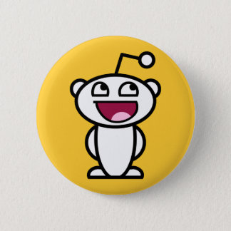 Reddit Awesome Face 6 Cm Round Badge