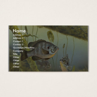 Redear Sunfish Business Card