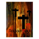 Redeemed Cross Poster