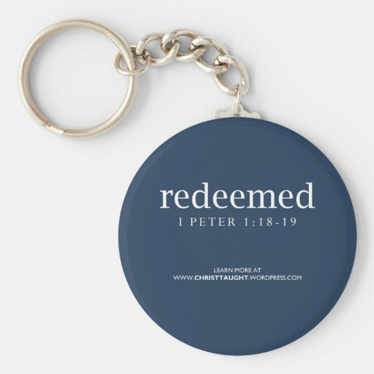 Redeemed Keychain