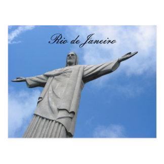 redeemer rio postcard